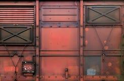 Linia kolejowa samochód Zdjęcia Royalty Free