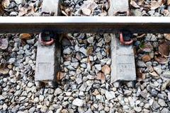 Linia kolejowa tajni agenci Fotografia Royalty Free