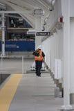 Linia kolejowa Technican Obraz Royalty Free