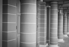 Linia kolumnada obrazy stock