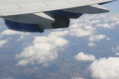 linia lotnicza Obraz Stock