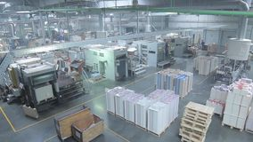 Linia Produkcyjna w Pakuje fabryce zbiory
