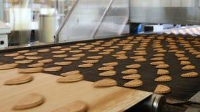 Linia produkcyjna wypiekowi ciastka zbiory wideo