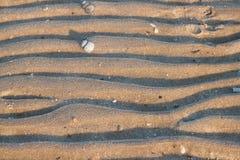 Linia z piaska zdjęcia royalty free