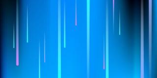 linie świecić Digital Spada świecenie ilustracja wektor