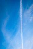 Linie auf dem Himmel Lizenzfreie Stockbilder