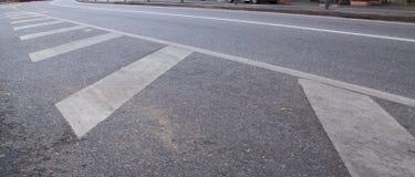 Linie auf der Straße Lizenzfreie Stockfotos