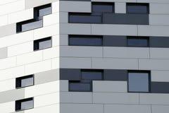Linie definiuje abstrakcjonistycznego nowożytnego architektury tło Obrazy Royalty Free