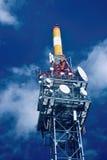 Linie des Getriebes tower Lizenzfreie Stockbilder