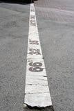 Linie des nördlichen Polarkreises Lizenzfreies Stockfoto