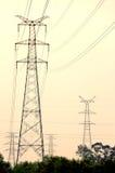 Linie energetyczne Obraz Stock