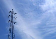linie energii elektrycznej Zdjęcie Royalty Free