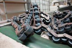 Linie Förderer-alte industrielle oder Fertigungsindustrie Lizenzfreie Stockfotografie