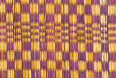 Linie Farbe alt vom Papyrusmattengebrauch für Hintergrund stockfoto