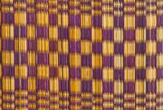Linie Farbe alt vom Papyrusmattengebrauch für Hintergrund stockfotografie