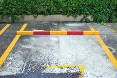 Linie gelbe Zeichen Lizenzfreies Stockbild