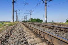 Linie Kolejowe Obraz Stock