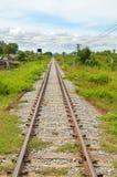 Linie kolejowe Zdjęcia Royalty Free
