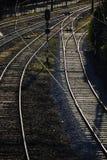 Linie kolejowe Zdjęcia Stock