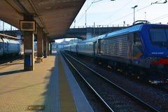 Linie kolejowe, Treviso, Veneto, Włochy, Europa Obrazy Royalty Free
