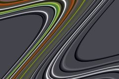 linie Kolorowe kreatywnie szare srebrzyste pomarańczowe ciemne linie, figlarnie tło Zdjęcie Stock