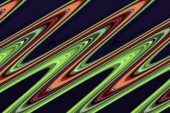 linie Kolorowe rzadkopłynne złote zielone pomarańczowe linie, figlarnie tło Fotografia Stock