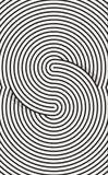 Linie Kunsthintergrund Lizenzfreies Stockbild