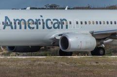 linie lotnicze amerykańskie Fotografia Stock