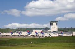 linie lotnicze cvg centrum delta obrazy royalty free