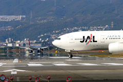 linie lotnicze Japan Obraz Royalty Free
