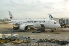 linie lotnicze Japan Obrazy Stock