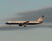 linie lotnicze jednoczyli Zdjęcie Royalty Free