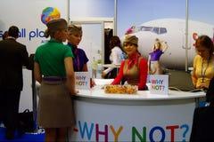 linie lotnicze planetują małego tt Warsaw Obraz Stock