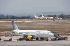 linie lotnicze vueling zdjęcie royalty free