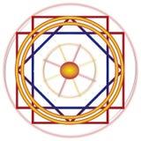 Linie Nazca ilustracja wektor