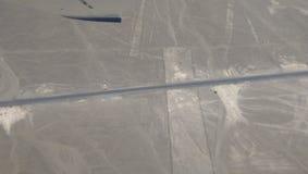 Linie nazca, Peru Zdjęcia Stock