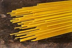 Linie Spaghettis Stockfotos