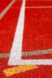 Linie sportów pola Obrazy Stock