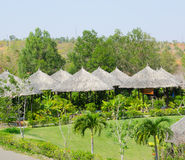 Summerhouses in Vietnam stockbild