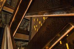 Linie wśrodku budynku Fotografia Stock