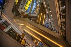 Linie wśrodku budynku Zdjęcie Royalty Free