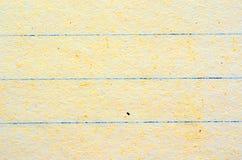 Linien auf Blatt Papier, verschiedene Farben und Beschaffenheiten Stockbilder