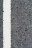 Linien auf der Straße Lizenzfreie Stockbilder
