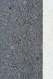 Linien auf der Straße Stockfoto
