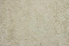 Linien und Beschaffenheiten auf Oberfläche der Betonmauer Stockfotos