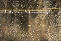 Linien und Klammern Stockbilder
