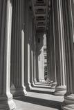 Linien und Schatten der Bildung Stockbild