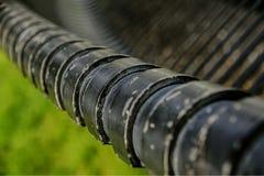 Linien von einem Park Lizenzfreies Stockfoto