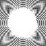 Linienelementkreishalbtonhintergrund Stockfotos