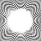 Linienelementkreishalbtonhintergrund Stockfoto